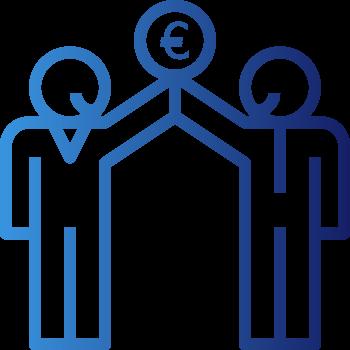 Pictogramme compte courant associés