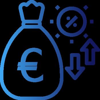 Pictogramme taux et conditions de renégociation de prêt